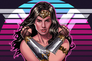 Wonder Woman 1984 Artwork New Wallpaper