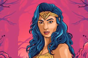 Wonder Woman 1984 Fan Made Art