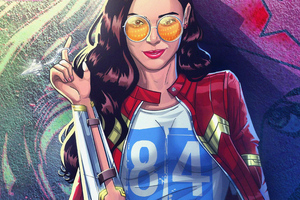 Wonder Woman 1984 Modern Art