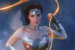 Wonder Woman 1984 Movie Art Wallpaper