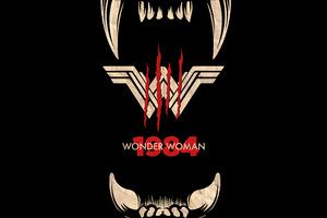 Wonder Woman 1984 Movie Poster Wallpaper