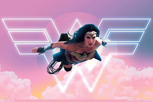 Wonder Woman 1984 New Art