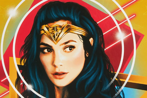 Wonder Woman 1984 New Poster Art Wallpaper