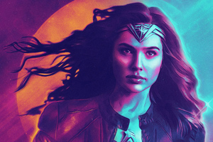 Wonder Woman 1984 Retrowave