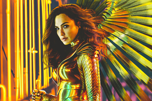 Wonder Woman 1984 Wings 4k