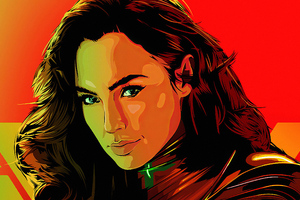 Wonder Woman 1984arts Wallpaper