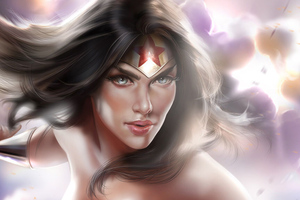 Wonder Woman 2018 Art