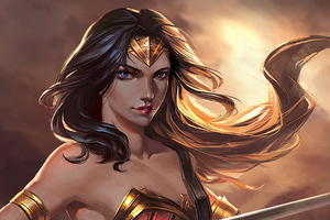 Wonder Woman 2019art