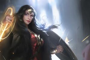 Wonder Woman 2020 4kartwork