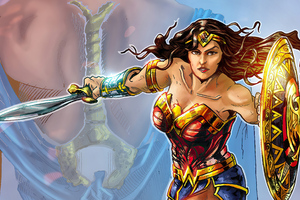 Wonder Woman 2020 Arts 4k Wallpaper