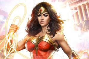 Wonder Woman 2020 New Artwork