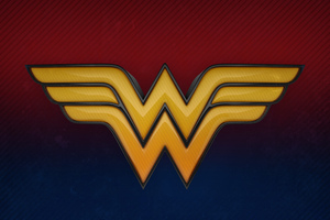 Wonder Woman 3d Logo 4k Wallpaper