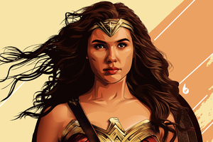 Wonder Woman 4k Arts