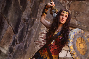 Wonder Woman 4k Cosplay New