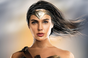 Wonder Woman 4k New Artwork