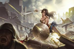 Wonder Woman 4k New