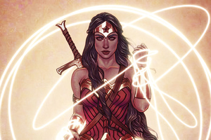 Wonder Woman 4kartwork 2020