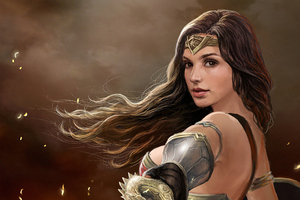 Wonder Woman 4kartwork Wallpaper