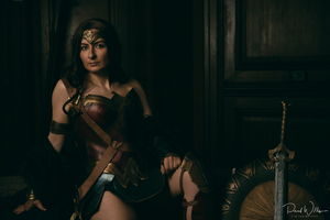 Wonder Woman 5k Cosplay Wallpaper