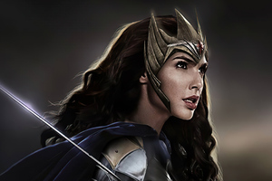 Wonder Woman 84 4k Artwork Wallpaper