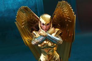 Wonder Woman 84 Armor Wallpaper