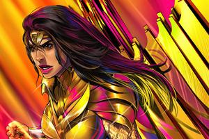 Wonder Woman 84 Gold Queen 5k Wallpaper