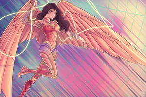 Wonder Woman 84 Wings