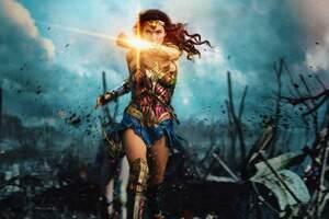 Wonder Woman 8k 2017 Wallpaper