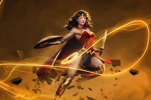 Wonder Woman Ability 4k Wallpaper