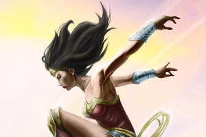 Wonder Woman Above