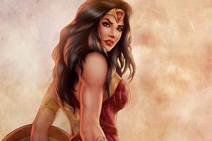 Wonder Woman Amazing Art