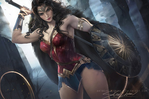 Wonder Woman Amazing Artwork Wallpaper