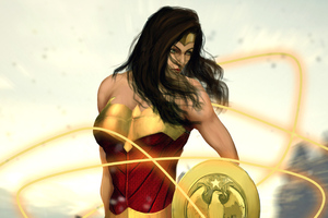 Wonder Woman Amazing Artworks Wallpaper