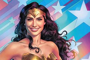 Wonder Woman Amazing Smile