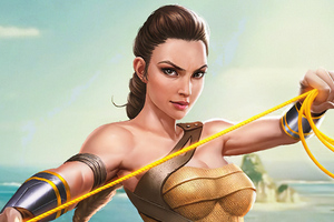 Wonder Woman Amazon Wallpaper