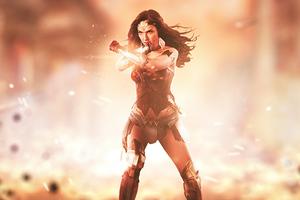 Wonder Woman Amazonian