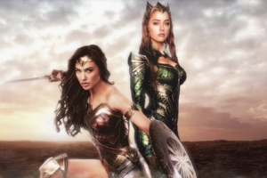 Wonder Woman And Mera