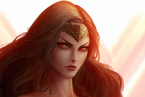 Wonder Woman Anger