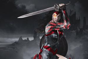 Wonder Woman Apokolips 4k