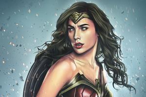Wonder Woman Art 4k Wallpaper