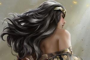 Wonder Woman Art HD 2018