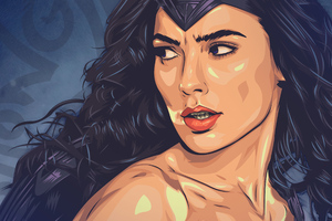 Wonder Woman Art New Wallpaper