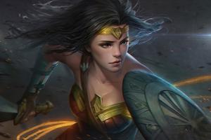 Wonder Woman Art4k 2020