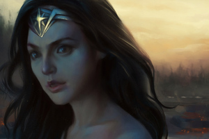Wonder Woman Artnew