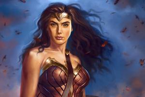 Wonder Woman Artwork 1984