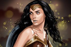Wonder Woman Artwork 4k Wallpaper