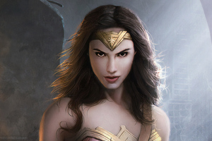 Wonder Woman Artwork HD 2019 Wallpaper