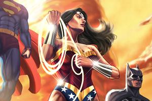 Wonder Woman Batman 2020 Wallpaper