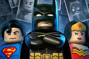 Wonder Woman Batman Superman Lego Wallpaper