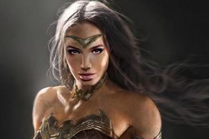 Wonder Woman Batman Vs Superman Fanart 4k